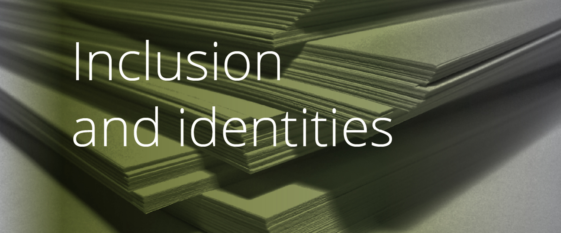 Inclusion and identities