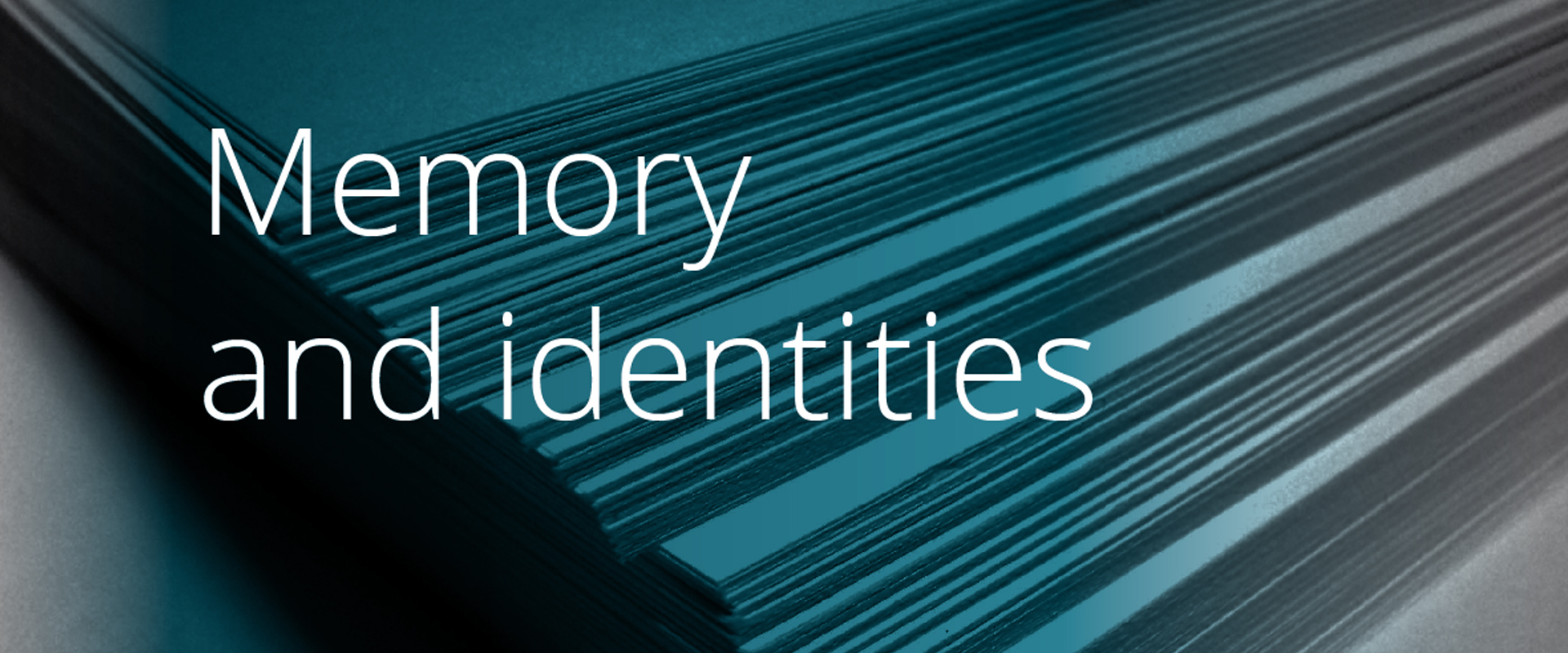 Memory and identities